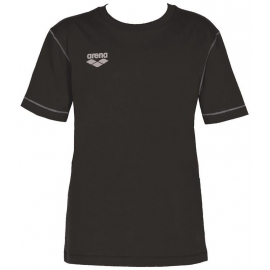 Tee shirt ARENA Team Line SS Tee - Black