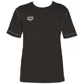 Tee shirt ARENA Team Line SS Tee - Black