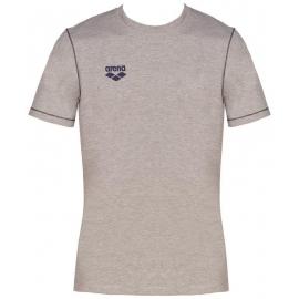 Tee shirt ARENA Junior Team Line SS Tee - Medium Grey