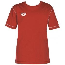 Tee shirt ARENA Junior Team Line SS Tee - Red