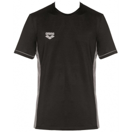Tee shirt Technique ARENA Team Line Tech SS Tee - Black