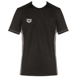 Tee shirt Technique ARENA Team Line Tech SS Tee - Black