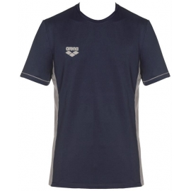 Tee shirt Technique ARENA Team Line Tech SS Tee - Navy
