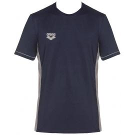 Tee shirt Technique ARENA Team Line Tech SS Tee - Navy
