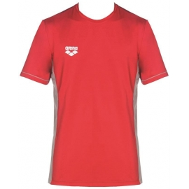 Tee shirt Technique ARENA Team Line Tech SS Tee - Red