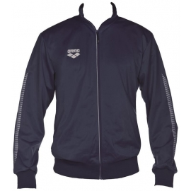 ARENA Knitted Poly Jacket Team Line - Navy