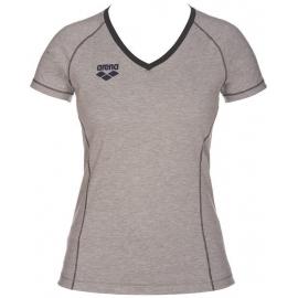 Tee shirt Femme ARENA Team Line SS Tee - Medium Grey