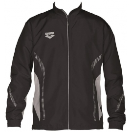ARENA Warm Up Jacket Team Line - Black Grey