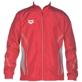 ARENA Warm Up Jacket Team Line - Red Grey