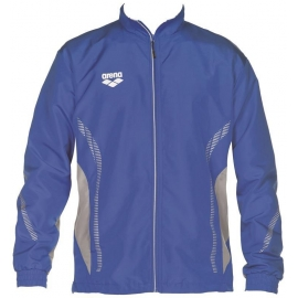 ARENA Warm Up Jacket Team Line - Royal Grey