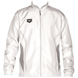 ARENA Warm Up Jacket Team Line - White Grey