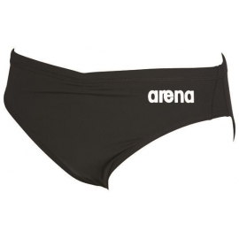 Arena Solid brief Black White - Maillot de bain Homme