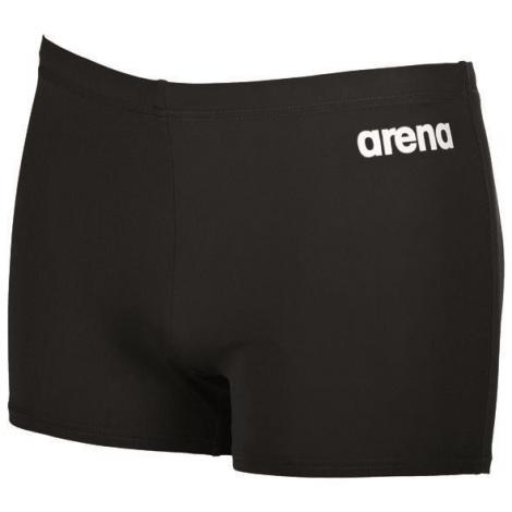 Arena Solid Short Black White