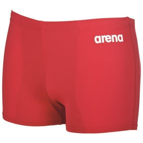 Arena Solid Short Red White
