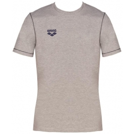 Tee shirt ARENA Team Line SS Tee - Medium Grey