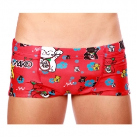 Boxer Mako Lucky Cat Red