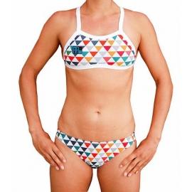 MAKO Colour Triangles - Bikini Femme 2 pieces