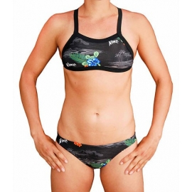 MAKO Sunkissed Hawaiian Noir - Bikini Femme 2 pieces