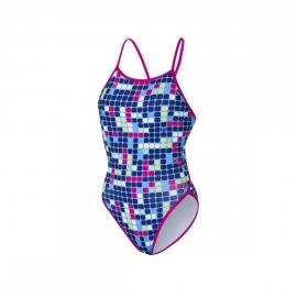 ZEROD Graphic Ruby - Maillot de bain Femme