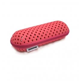 Pochette Lunettes Swans Goggle Case Pink