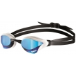 ARENA Cobra Core Mirror - Blue White - Lunettes Natation