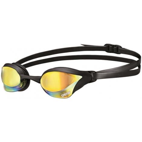 ARENA Cobra Core Mirror - Yellow Revo Black - Lunettes Natation