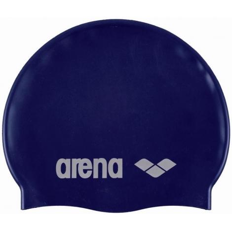 Bonnet ARENA Classic silicone Denim Silver