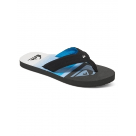 Tongs Quiksilver Basis XKBW - Black Blue White
