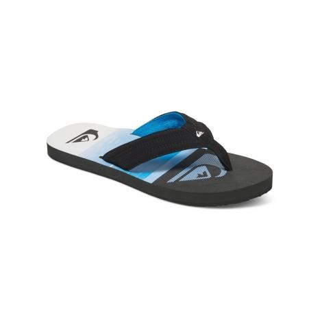 Tongs Quiksilver Basis XKBW - Black Blue White