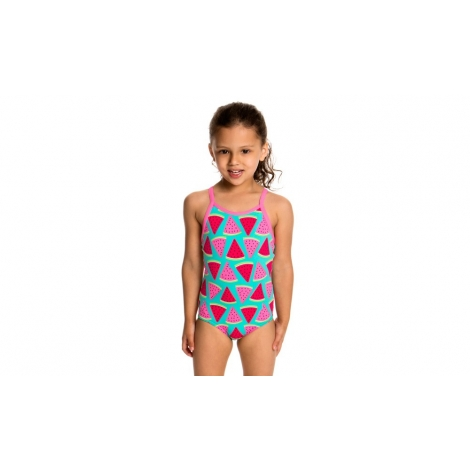 f086e9d181 Funkta Toddler Juicy Lucy - Maillot Fille 1 à 5 ans - les4nages