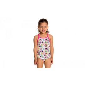 Funkta Toddler Crazy Critters - Maillot Fille 1 à 5 ans