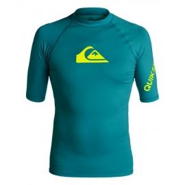 Tee Shirt Quiksilver All time SS BSG Morocco Blue