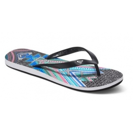 Tongs ROXY Tahiti V BKN - Black Print