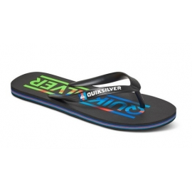 Tongues Quiksilver Molokai Wordmar Black/Blue/Red