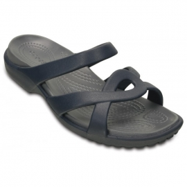 CROCS Women Meleen Twist Sandal - Navy Storm
