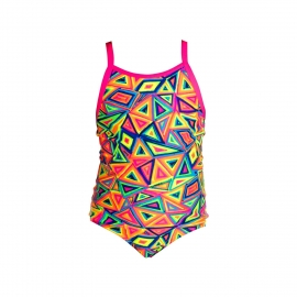 Maillot Funkita petite fille 1 piece Crazy Crayon Toddler Fille