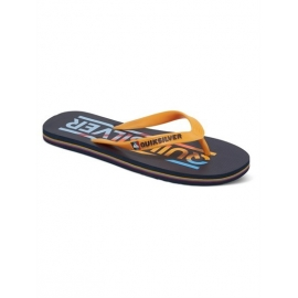 Tongs Quiksilver Junior Molokai Woodmark Youth XBBN Blue Orange