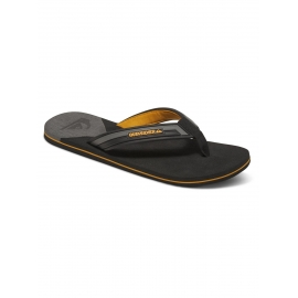Tongs Quiksilver Molokai New Wave Deluxe XSSN Grey Orange