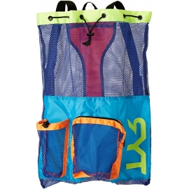 Mesh Bag Tyr Big Mummy blue/Yellow