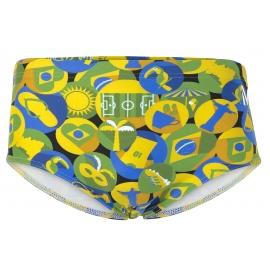 Boxer MP Michael Phelps - Carimbo - Green Yellow