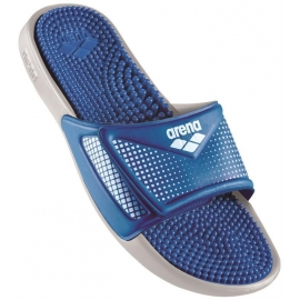 ARENA Marco Velcro Hook - Navy Royal - Claquettes Piscine