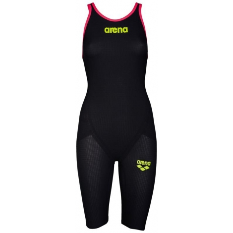 ARENA Carbon Flex VX Powerskin Open Back (Dos Ouvert) - Fluo Red