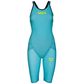 ARENA Carbon Flex VX Powerskin Open Back - Turquoise Black - Dos Ouvert