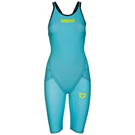 ARENA Carbon Flex VX Powerskin Closed Back - Turquoise Black - Dos Fermé