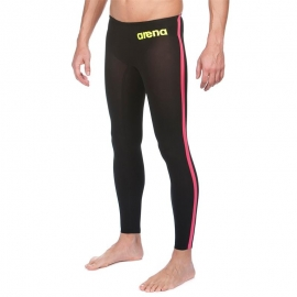 ARENA Powerskin Homme Open Water R-Evo + Pant - Black Fluo Yellow