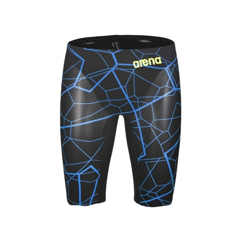 ARENA PowerSkin CARBON Air - Black Bright Blue Edition Limitée - Jammer Natation