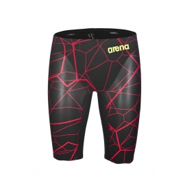 ARENA PowerSkin CARBON Air - Black Bright Red Edition Limitée - Jammer Natation