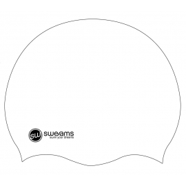 Bonnet SWEAMS White silicone