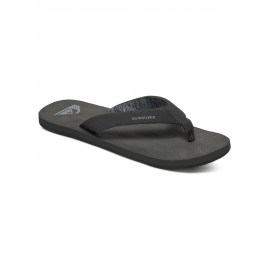 Tongues Quiksilver MOLOKAI LASER GRIP SOLID BLACK - SBKM