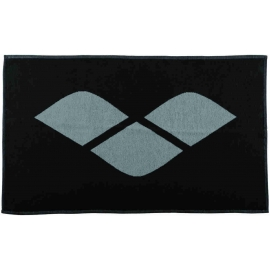Serviette ARENA HICCUP black grey